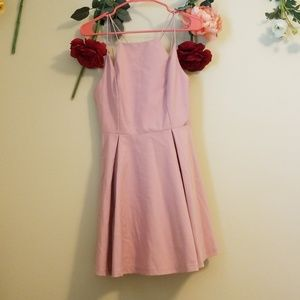 NWT Pink Fit & Flare Dress